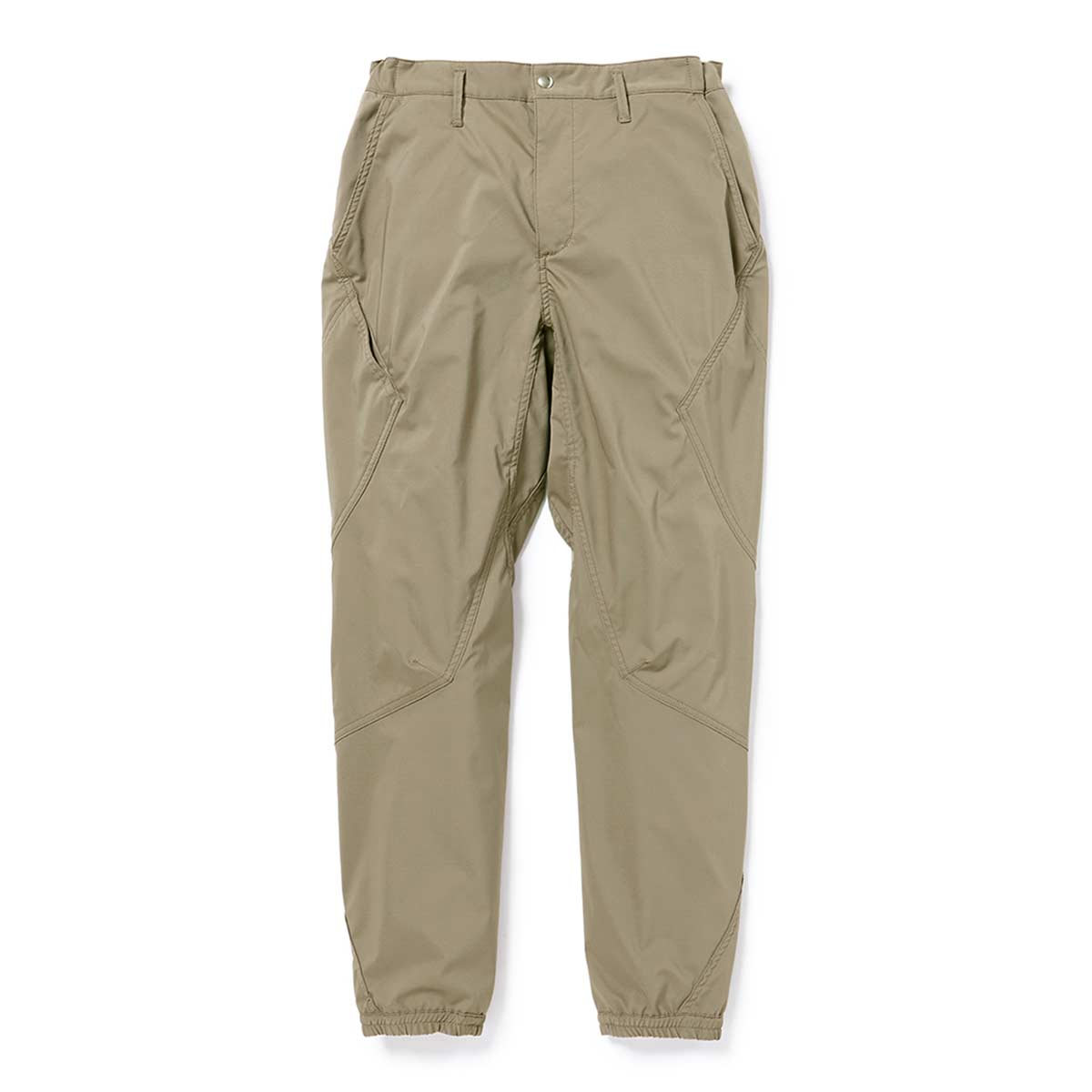 nonnative / CYCLIST EASY RIB PANTS TAPERED FIT POLY TWILL Pliantex -BEIGE
